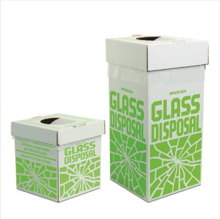 Disposal cartons for Glass / 깨진 유리 폐기함