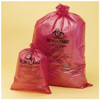 Biohazard Disposal Bags / 멸균 비닐백
