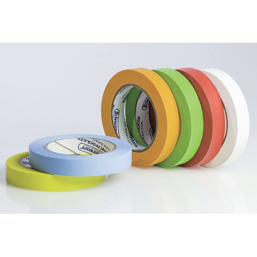 Write-on Label Tape Rainbow Multi-Pack (6-Color) / 라벨테이프 6색상 혼합